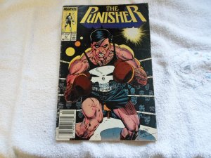 1989 MARVEL THE PUNISHER # 21