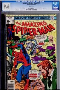 Amazing Spider-Man #170 CGC 9.6 WHITE pages  30¢ cover price