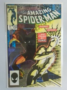 Spider-Man #256 Direct edition 8.5 VF+ (1984 1st Series)