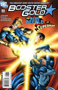 Booster Gold (2007 series) #8, NM (Stock photo)