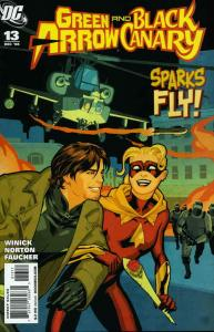 Green Arrow/Black Canary #13 FN; DC | save on shipping - details inside