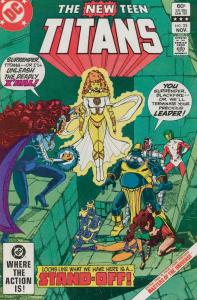 New Teen Titans, The (1st Series) #25 FN; DC   save on shipping - details inside