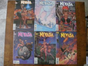 6 DC VERTIGO Comic Book: NEVADA #1 #2 #3 #4 #5 #6