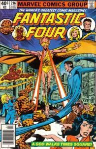 Fantastic Four (1961 series) #216, VF- (Stock photo)