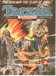 TARZAN ADVENTURES V 6#29 VG Oct. 1956 COMICS BOOK