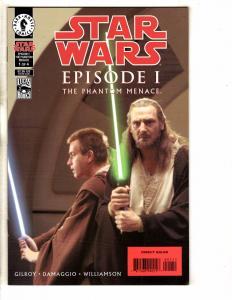 8 Star Wars Episode 1 Complete Dark Horse Comics # 1 2 3 4 + Anakin Obi Jin PP10