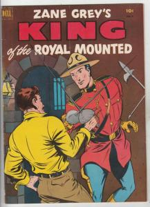 King of the Royal Mounted #8 (Jun-52) FN/VF+ High-Grade King of the Royal Mou...