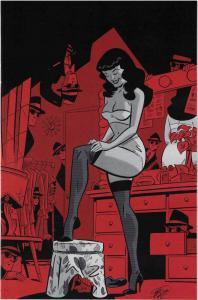 BETTIE PAGE #6, NM, Scott Chantler , Variant, 2017, Betty, more in store, F