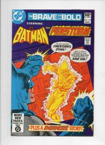 BRAVE and the BOLD #172, NM-, Batman, FireStorm, 1955 1981, more in store