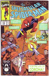 Spider-Man, Peter Parker Spectacular #177 (Aug-91) NM/NM- High-Grade Spider-Man