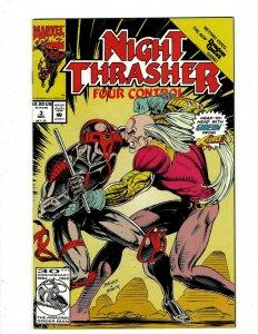 10 Comics Night Thrasher 3 4 GenetiX 4 Darkman 1 2 Warheads 1 Sleepwalker3+ J416