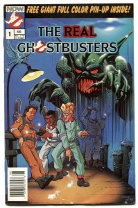 The Real Ghostbusters #1 1988- Now Comics VG