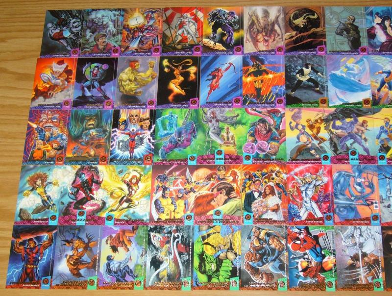X-Men '94 Fleer Ultra Card Set (150) complete series