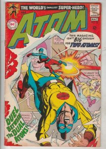 Atom, The #36 (May-68) GD/VG Affordable-Grade The Atom