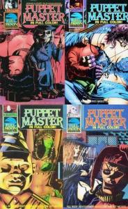 PUPPET MASTER (1990 ET) 1-4 '...Based On The Hit Movie