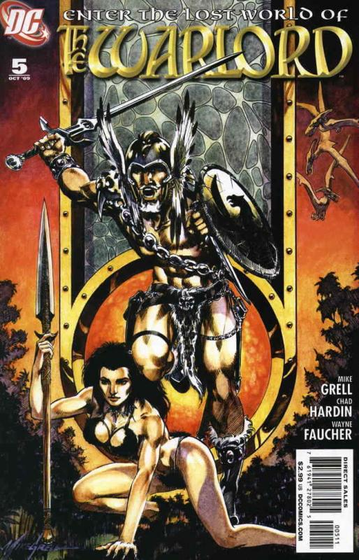 Warlord (5th Series) #5 VF/NM; DC | save on shipping - details inside