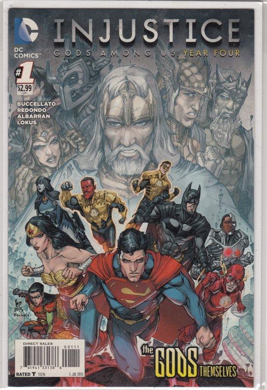 Injustice: Gods Among Us Year Four #1 (2015)