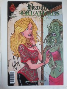 Beautiful Creatures #1 (Red 5 2009) Signed Kurtis J Wiebe (1st Published Work)