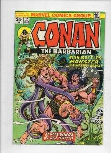 CONAN the BARBARIAN #32 FN/VF, Buscema, Ernie Chan, Howard, 1970 1973