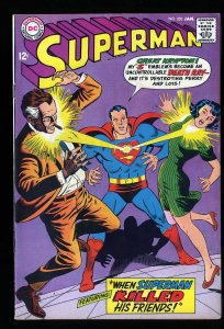Superman #203 VF- 7.5
