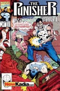 Punisher War Journal (1988 series) #24, NM (Stock photo)