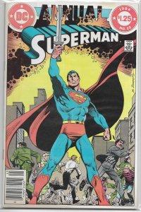 Superman   vol. 1  Annual   #10 FN (1984) Maggin/Swan/Anderson, Barreto cover