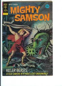 Mighty Samson #21 - Bronze Age - (VG+) August, 1972