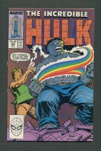 The Incredible Hulk #355  /  8.0 - 8.5 VFN  /  May 1989