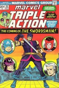 Marvel Triple Action (1972 series) #13, VG+ (Stock photo)