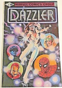 DAZZLER#1 VF/NM 1981 ERROR VARIANT MARVEL BRONZE AGE COMICS