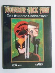 Wolverine/Nick Fury The Scorpio Connection HC (Marvel) #1-1st Print, 6.0 (1989)