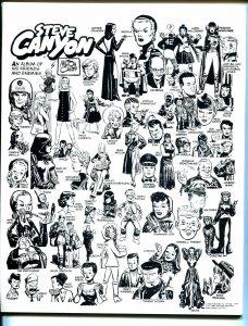 Comics Revue #30-Steve Canyon-Milton Caniff memorial issue-Bill Mauldin-VF