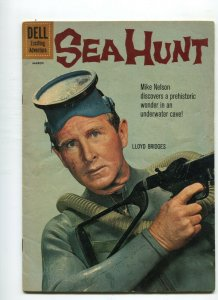 Sea Hunt 8  VG+ Lloyd Bridges photo cover (Dell Jan.-Mar. 1961)