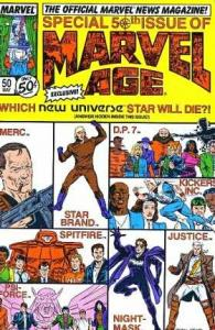 Marvel Age #50, Fine (Stock photo)