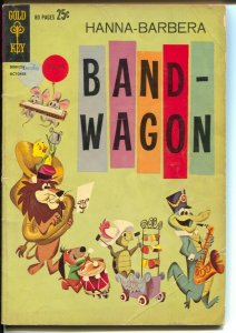 Hanna-Barbera Band-Wagon #21 1962-1st issue-Giant-Auggie Doggie-Snagglepuss-VG