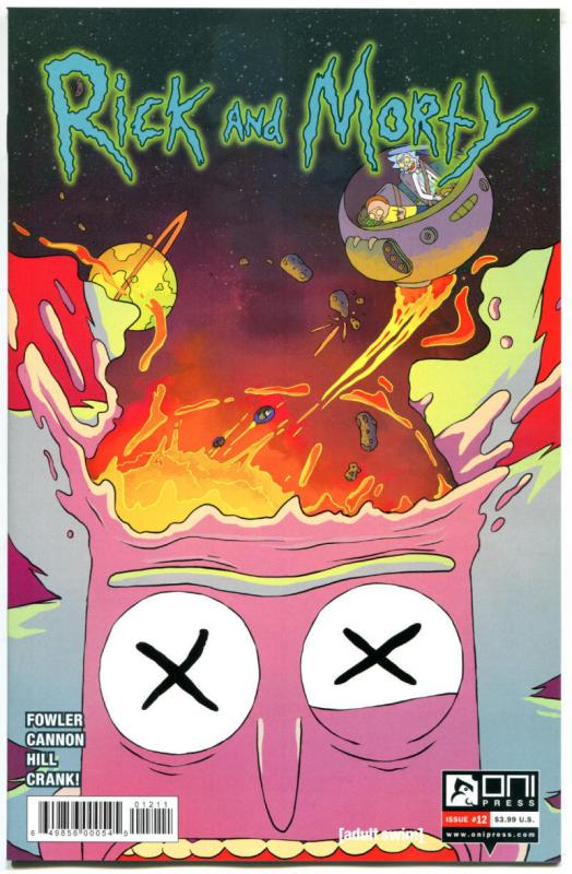RICK and MORTY #12, 1st, NM, Grandpa, Oni Press, from Cartoon 2015,more in store