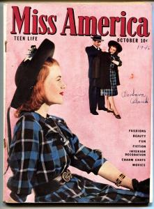 Miss America Vol 4 #6 1946-Fashions- Patsy Walker- Timely Comics