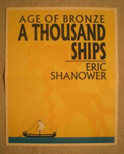 AGE OF BRONZE Promo Poster, 11X13, 2001, Unused, more in our store