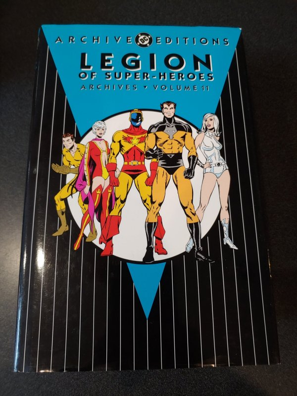 LEGION OF SUPER-HEROES ARCHIVES VOLUME 11 HARD COVER