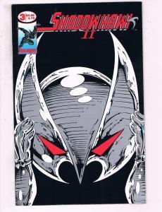 Shadowhawk 2 #3 VF Image Comics Comic Book 1993 DE17