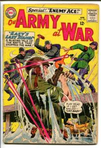 OUR ARMY AT WAR #153-SGT. ROCK-COOL ISSUE VG