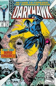 Darkhawk #21 VF/NM; Marvel | save on shipping - details inside