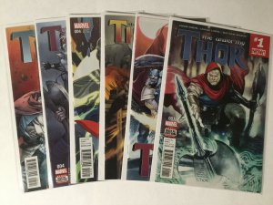 Unworthy Thor 1-5 1 2 3 4 5 Lot Nm Near Mint Marvel