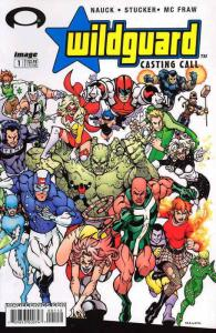 Wildguard: Casting Call #1A VF/NM; Image   save on shipping - details inside