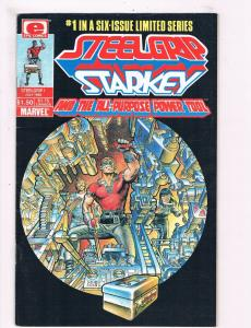 Steelgrip Starkey And The All Purpose Power Tool # 1 VF/NM Epic Comic Books! SW9
