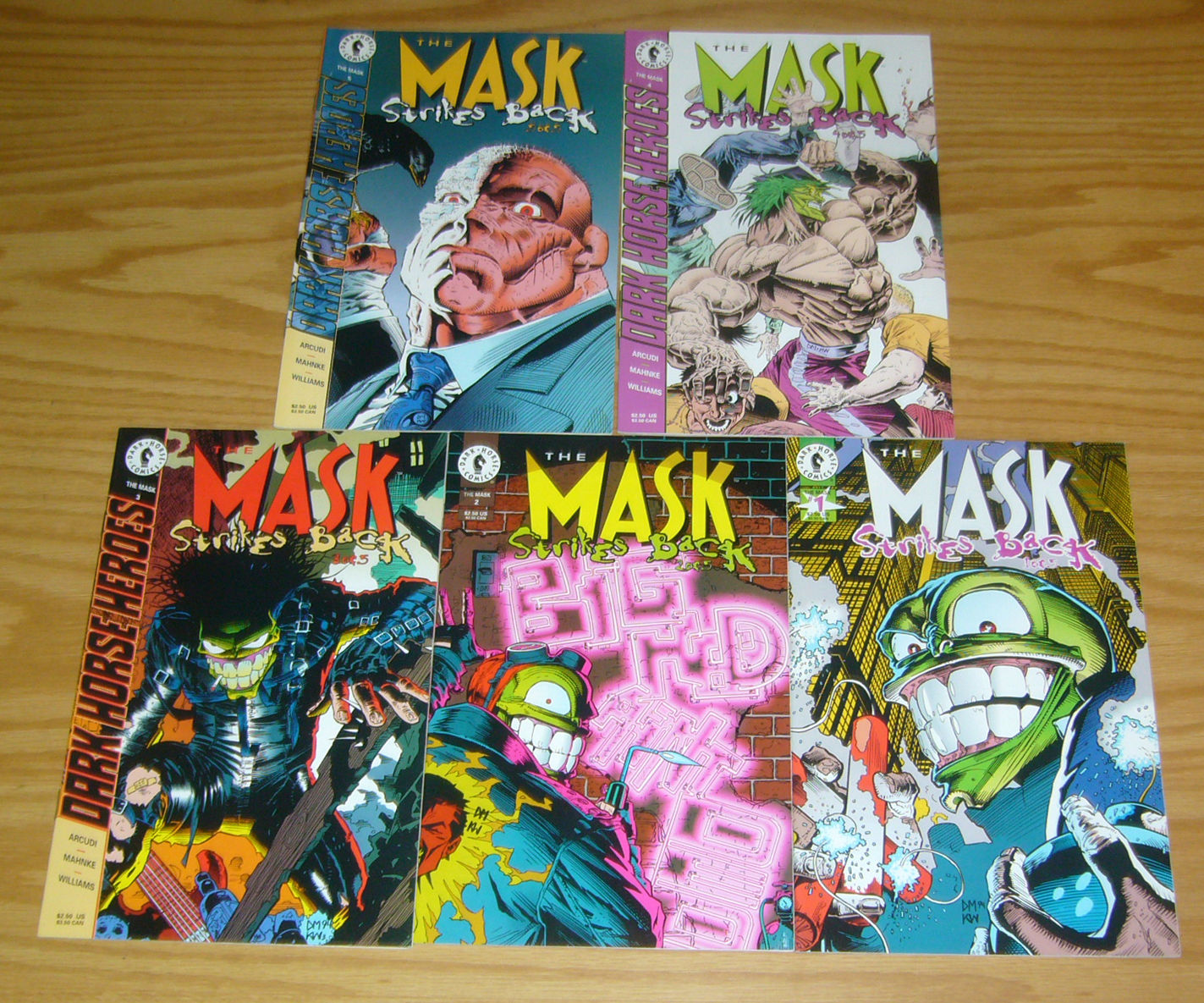 1995 John Arcudi /& Doug Mahnke The Mask strikes back No.3