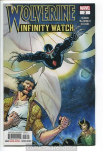 WOLVERINE INFINITY WATCH (2018 MARVEL) #3 NM