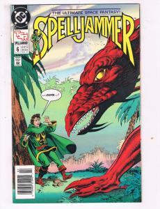 Spelljammer #6 VF TSR DC Comics Comic Book Feb 1991 DE23