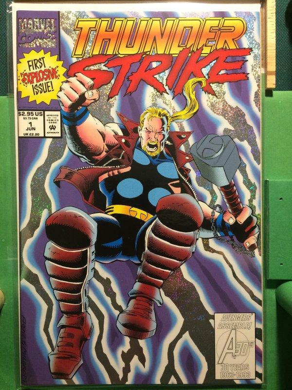 Thunderstrike #1 metallic cover
