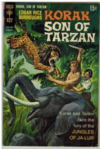 KORAK SON OF TARZAN 27 G-VG Feb. 1969